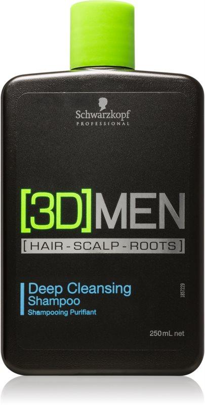 Schwarzkopf Professional [3D] MEN Deep Cleanse Clarifying Shampoo